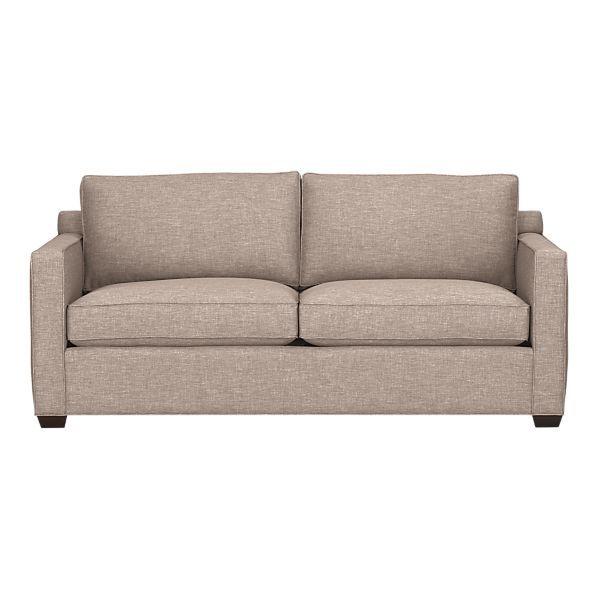 Davis Sofa W Pullout Bed Crate Barrel Sleeper Sofa Sofa