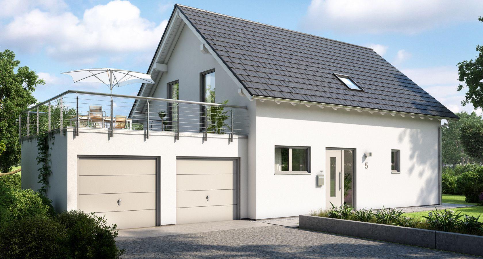 Garagen Doppelgarage Familienhaus Haus Mit Garage