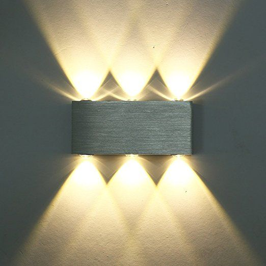 Superior Glighone 6W LED Wall Light Up And Down Wall Lights Wall Uplighter For  Hallway Living Room
