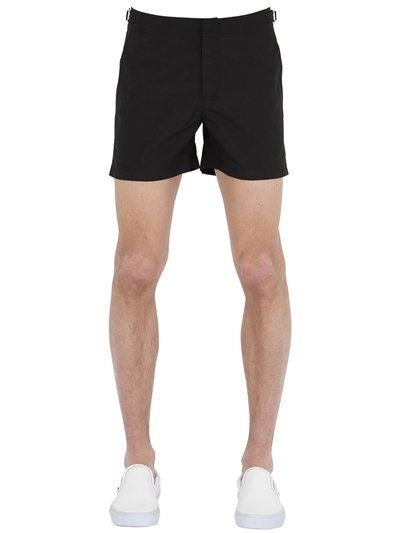 e1388911c7 ORLEBAR BROWN SETTER SHORT LENGTH SWIMMING SHORTS, BLACK. #orlebarbrown  #cloth #swimwear