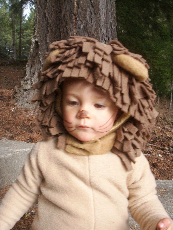 Lion Halloween Costume for Boys or Girls. $78.00 via Etsy.  sc 1 st  Pinterest & Lion Halloween Costume for Boys or Girls. $78.00 via Etsy. | Kiddos ...