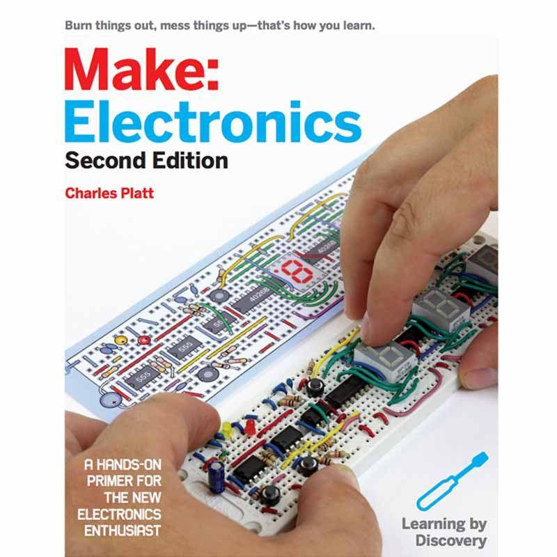 Make: Electronics, 2Ed   Electronics components, Computer books and ...