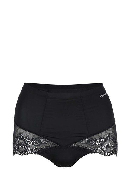 3ff2993f75c Černé stahovací kalhotky DKNY