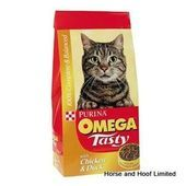 Omega Chicken Duck Cat Food 10kg Omega Tasty Cat Omega Tasty Cat Food Has Been S Cat Foo In 2020 Cat Food Cats Dry Cat Food
