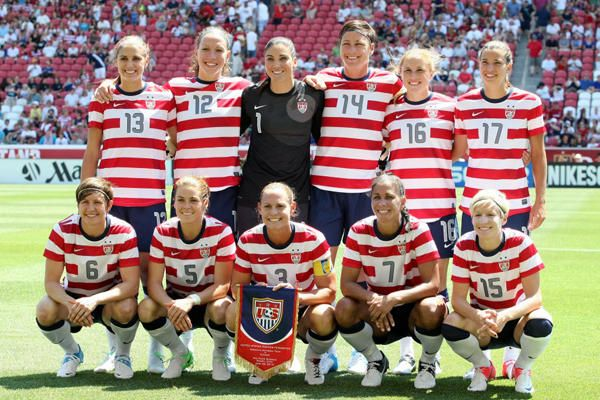 London Olympics What To Watch Today Women S Soccer Usa Vs France Usa Soccer Women Women S Soccer Team Usa Soccer Team