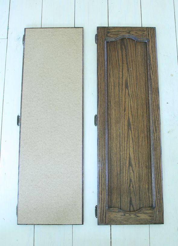 Modernizing Old Cabinet Fronts | Diy cabinet doors ...