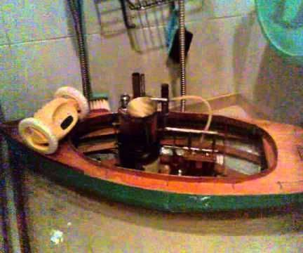 Home Made Model Steam Boat - Part I - All