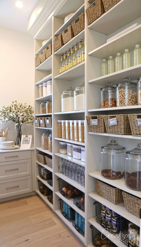 The best solutions for kitchen organization #kitchenpantryorganization Die, #Die #diypantry ...