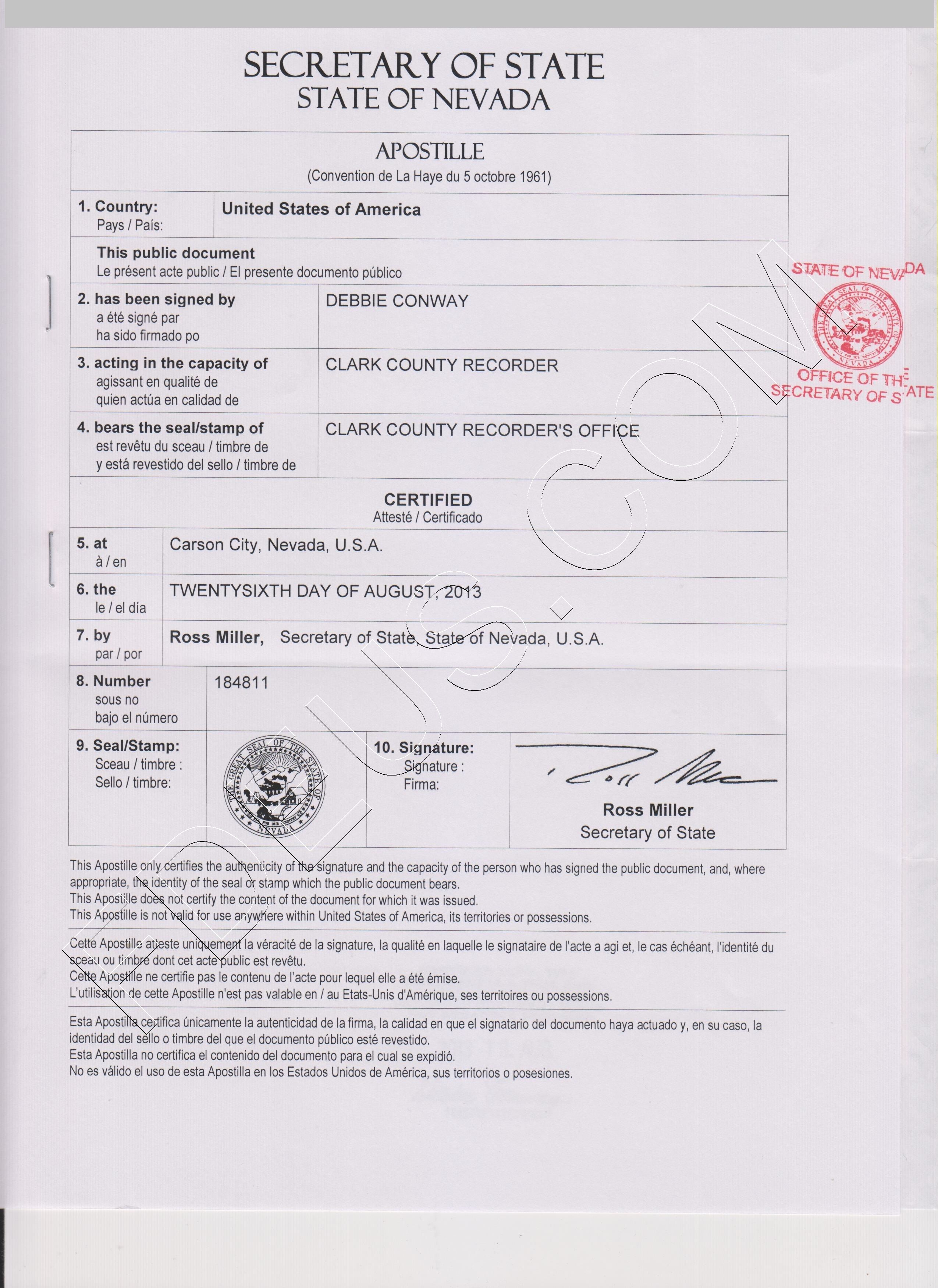 marriage certificate apostille » Free Professional Resume ...