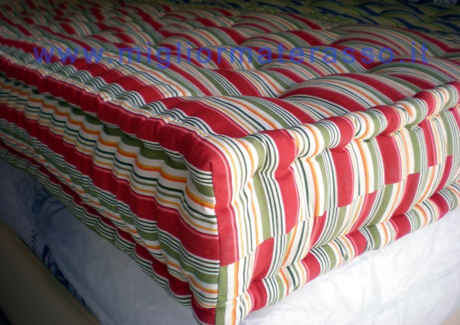 materasso colorato a giorno, su misura!