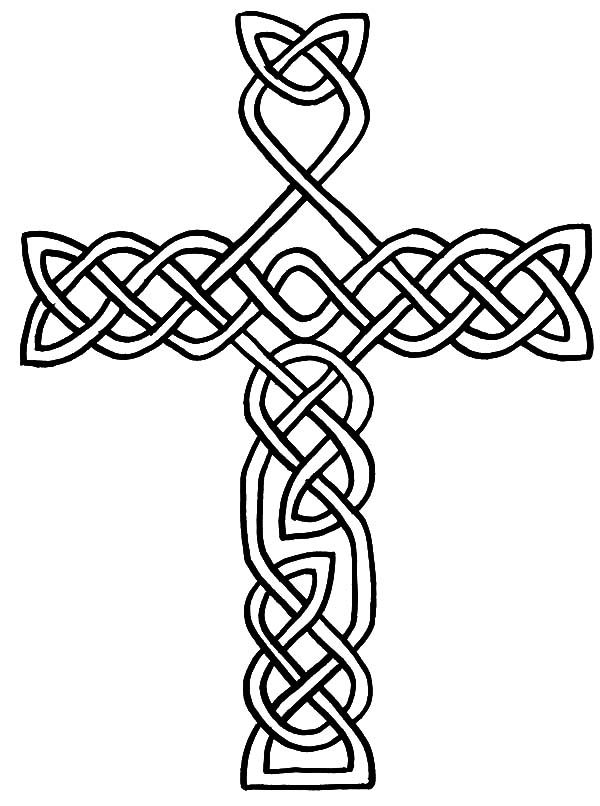 Celtic Cross Coloring Pages For Kids Celtic Cross Coloring Pages For Kids Best Place To Color Cross Coloring Page Coloring Pages Celtic Cross