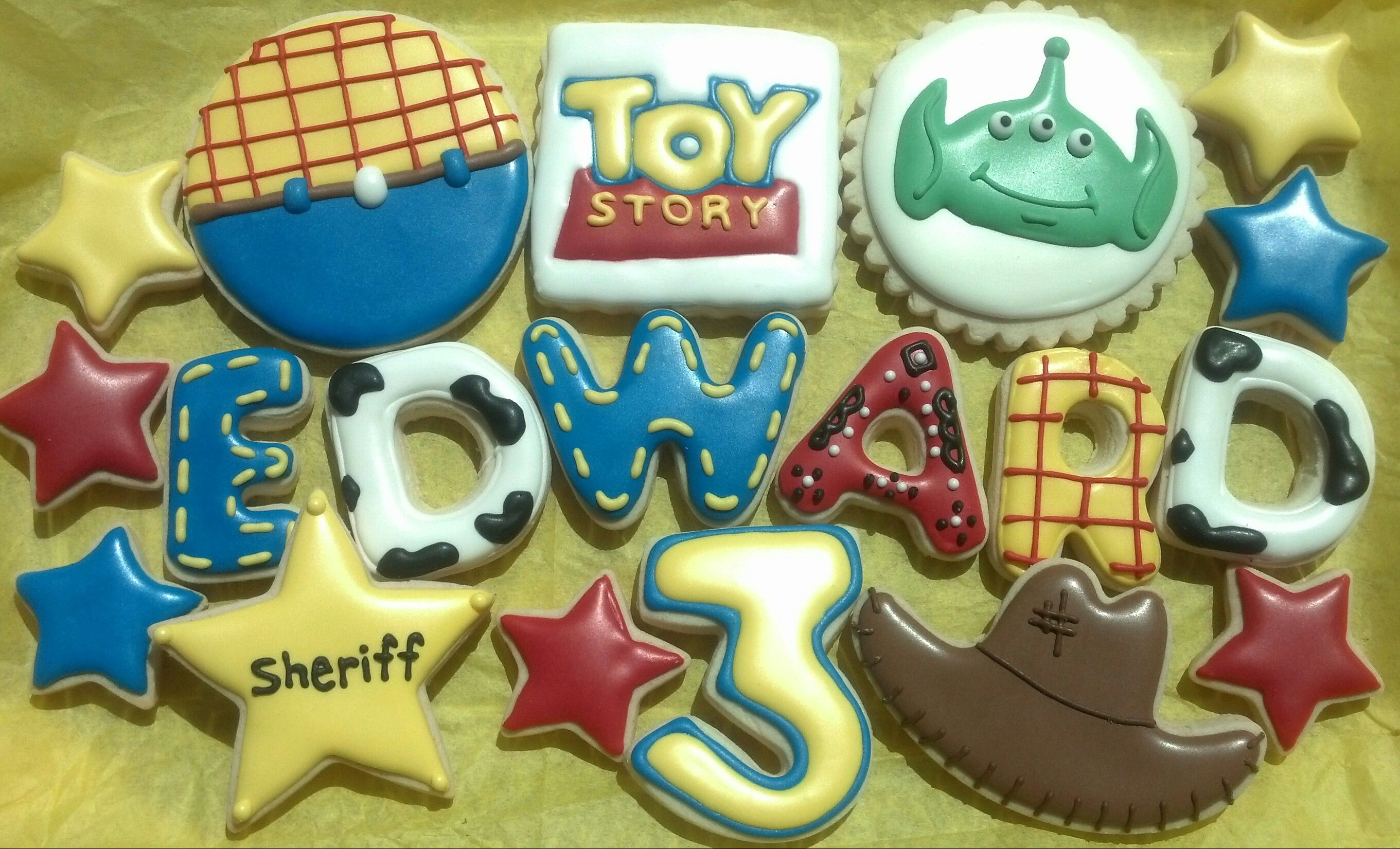 Toy Story Cookies | Toy Story Party | Pinterest