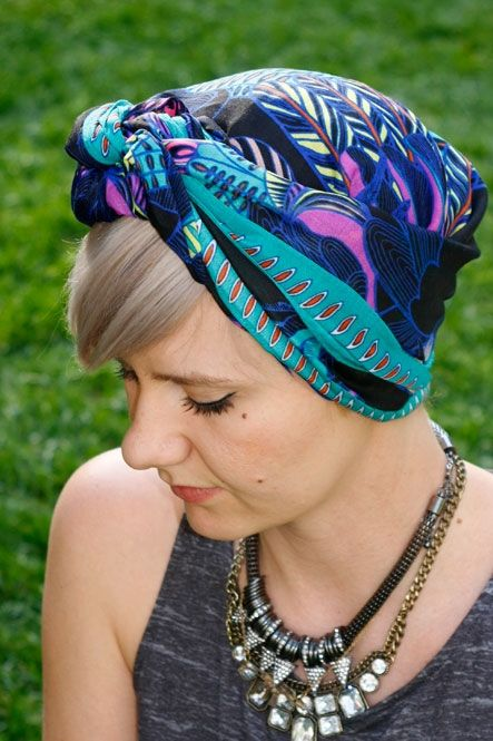 How To Tie A Scarf 3 Chic Ways Hats For Short Hair Headscarf Short Hair Headbands For Short Hair