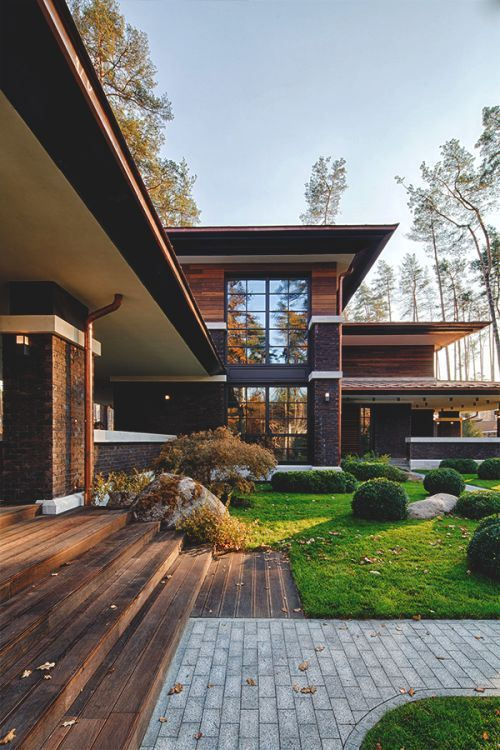 Textures and colors mixed the right way Architecture Pinterest - fachadas originales