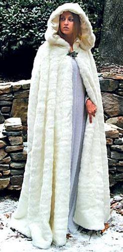 long fur dresses
