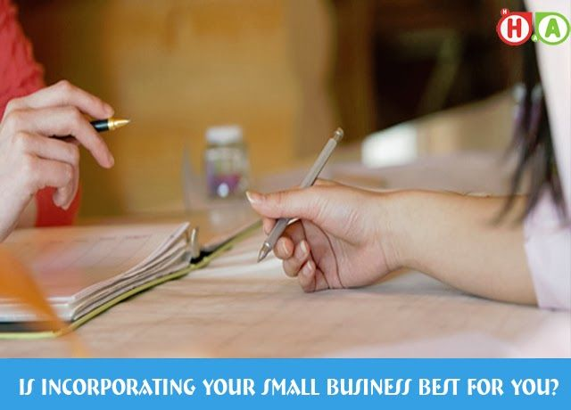 Is Joining Your Little Business Best for You? Accounting