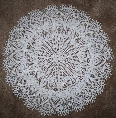 free doilies pattern to printing | CROCHET DOILIES FREE PATTERN ...