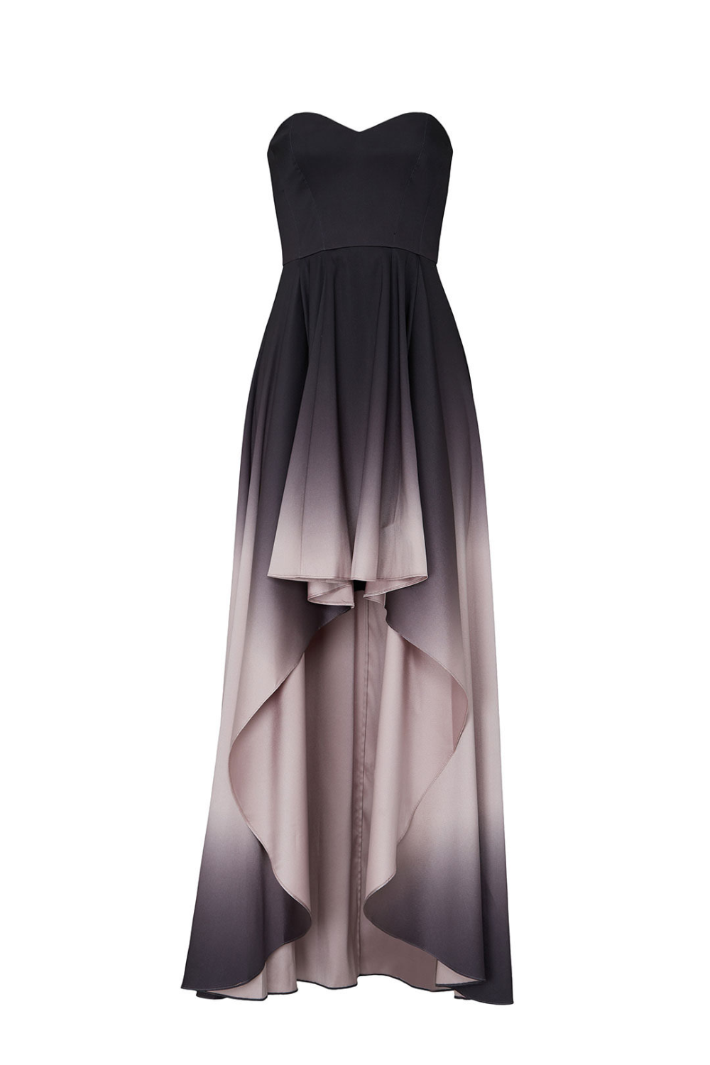 Badgley Mischka Black Ombre High Low Gown Black High Low Dress Gowns Ball Dresses [ 1500 x 1000 Pixel ]