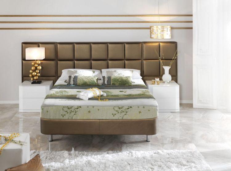 Amerikanische schlafzimmer ~ 12 bettkopfteil ideen für stilvolle schlafzimmer atmosphäre