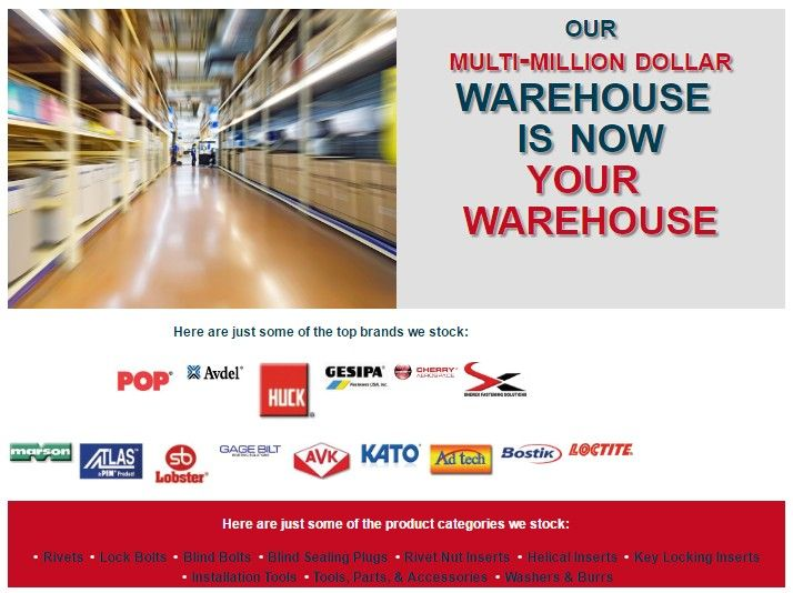 Our Multi Million Dollar Warehouse Is Now Your Warehouse Www Baysupply Com Storage System System Warehouse