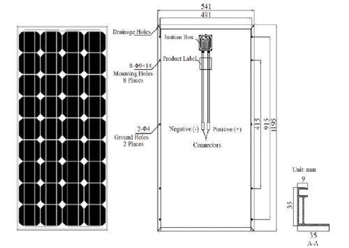 Renogy 4 Piece 100w Monocrystalline Photovoltaic Pv Solar Panel Buy Solar Panels Solar Pv Panel Solar Panels For Home
