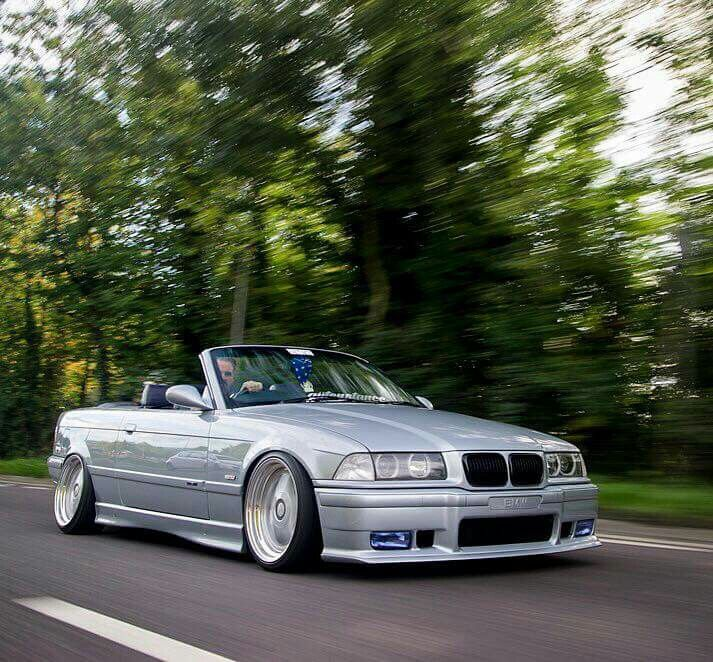 bmw e36 3 series cabrio silver slammed bmw ultimate. Black Bedroom Furniture Sets. Home Design Ideas