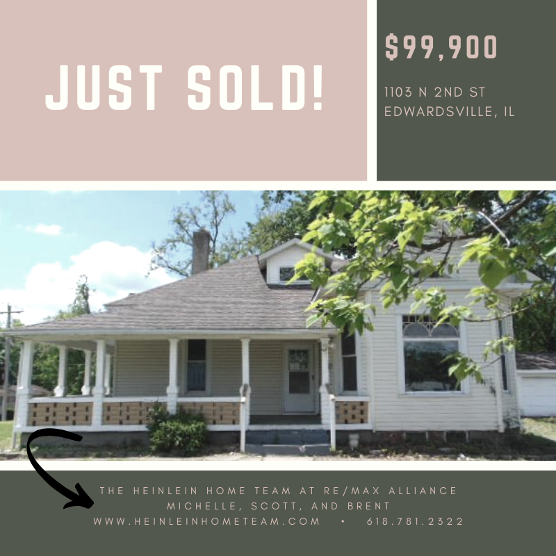 Justsold This Fixer Upper In Edwardsville Today Located Off Of Downtown Are You Looking To Make A Move Soon Then Give The He Real Estate Home Buying Remax