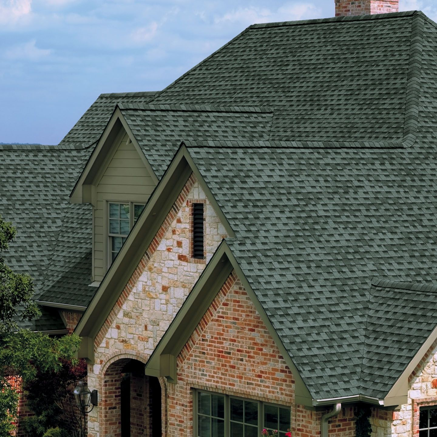 Best Slate Timberline Hd Shingling Timberline Slate Roof 640 x 480