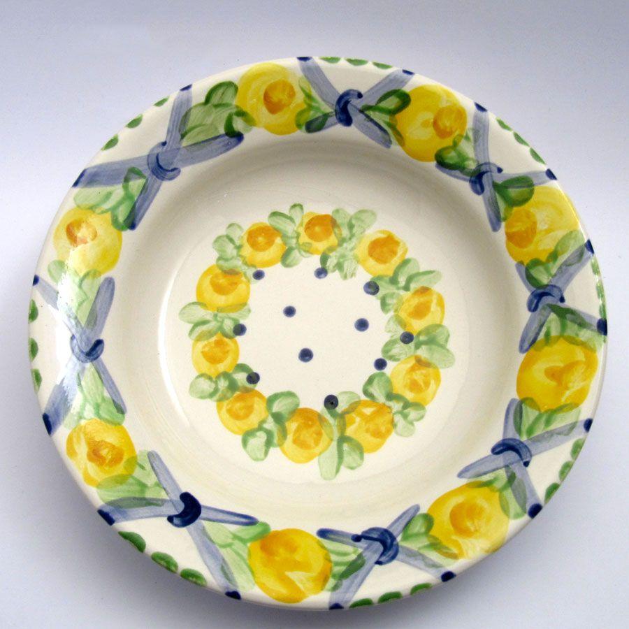 Alle Suppenteller der Familie BlueHoria-Berdea! Die Blau-Gelb-Grüne Designfamilie von Unikat-Keramik. Das wohl einzigartigste Keramik Geschirr der Welt!