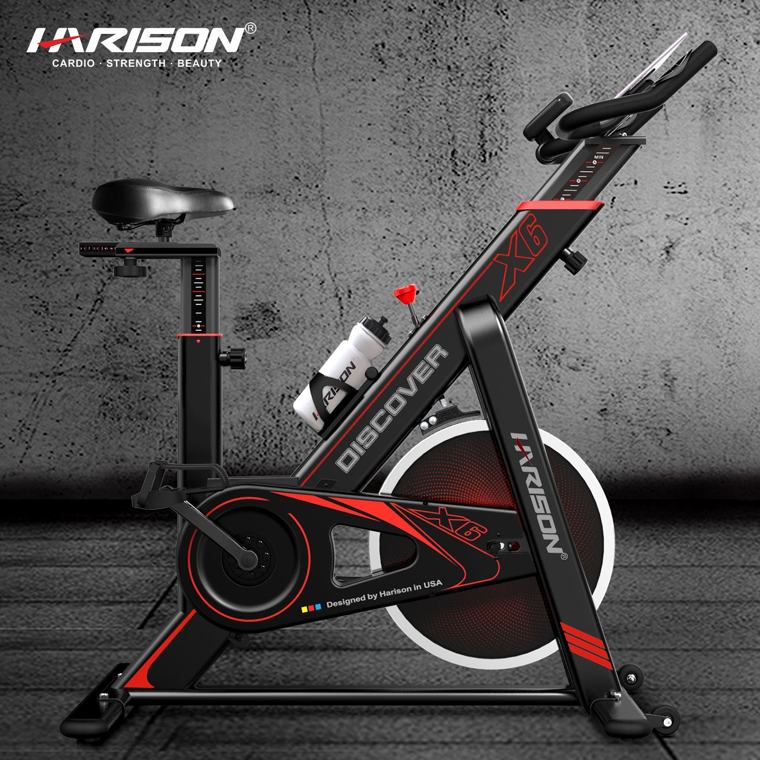Harison X6 Indoor Cycling Bike With Images Indoor Cycling Bike