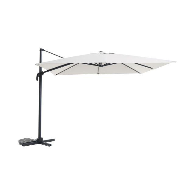 parasol d port blooma jaya gris 300 cm parasol d port castorama et parasol. Black Bedroom Furniture Sets. Home Design Ideas