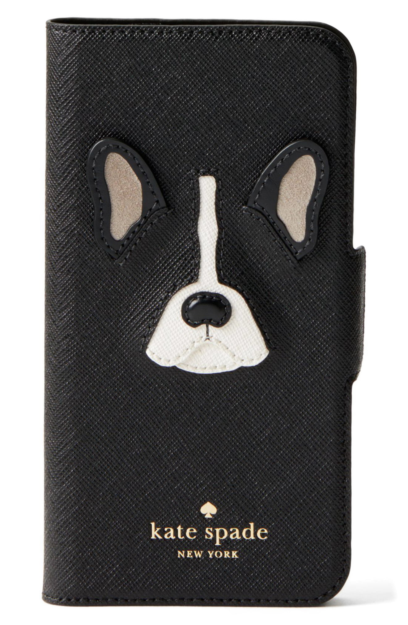 differently 2b7ea 99dab Kate Spade New York Antoine Iphone 7/8 & 7/8 Plus Folio Case - Black ...