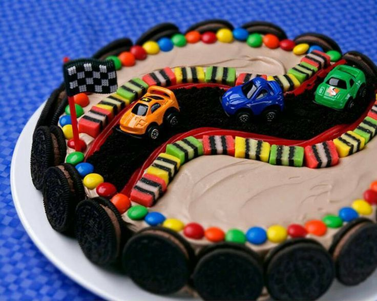 Astonishing Cake Decorating Ideas With Cars For Boys Car Cake For A Boys Personalised Birthday Cards Sponlily Jamesorg