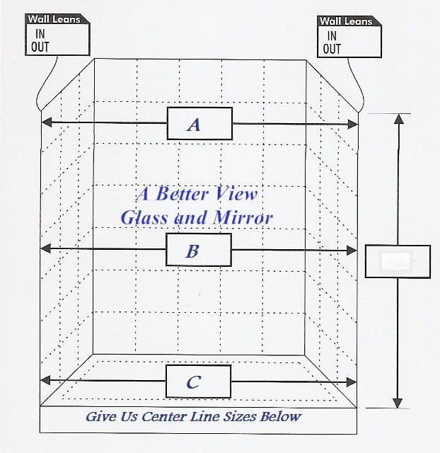 Glass Shower Door Measure Sheet With Images Glass Shower Doors