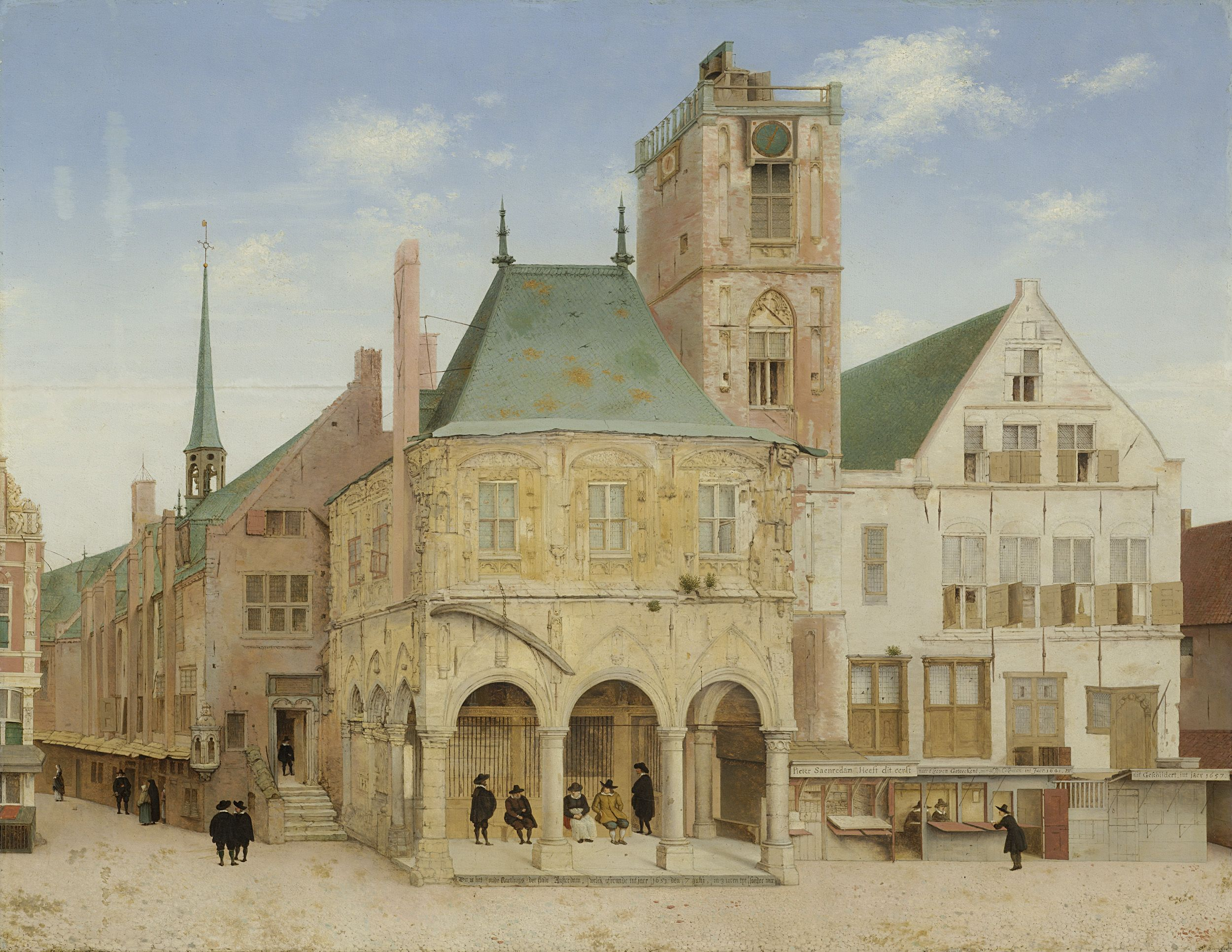 The Old Town Hall Of Amsterdam Pieter Jansz Saenredam 1657 In 2020 Amsterdam Art Dutch Painters Haarlem