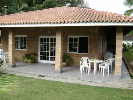 Resultado de imagen para casa simples e bonita casas de - Jardines rusticos campestres ...
