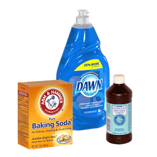 Upholstery Cleaner 1 Part Dawn Dish Soap Mixed With 2 Parts