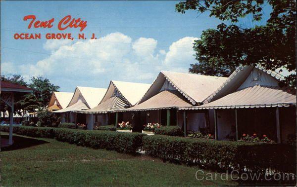 Tent City Ocean Grove Nj Ocean Grove Tent City