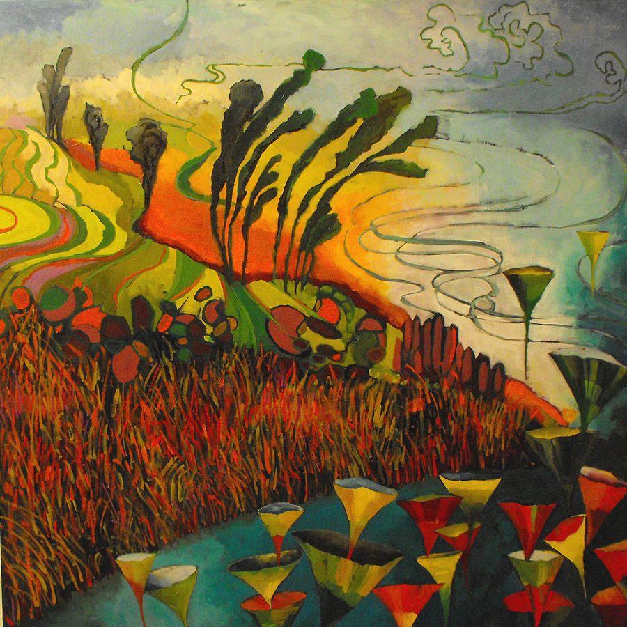 Amselhof Kunstdrucke susan schiesser artist search paint landscape