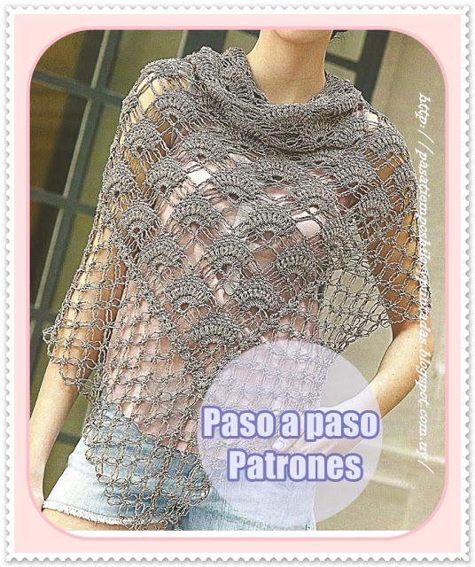 Pasatiempos entre hilos y puntadas: Suéter y chal   Tejido - Crochet ...