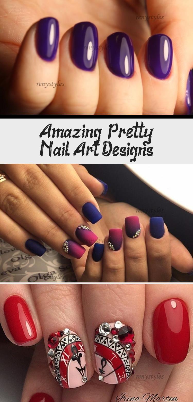 Photo of Amazing & Pretty Nail Art Designs – Nail Art