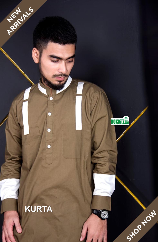 Kemko (Kemeja Koko) Kurta. Kemko dengan desain Style Pakistan