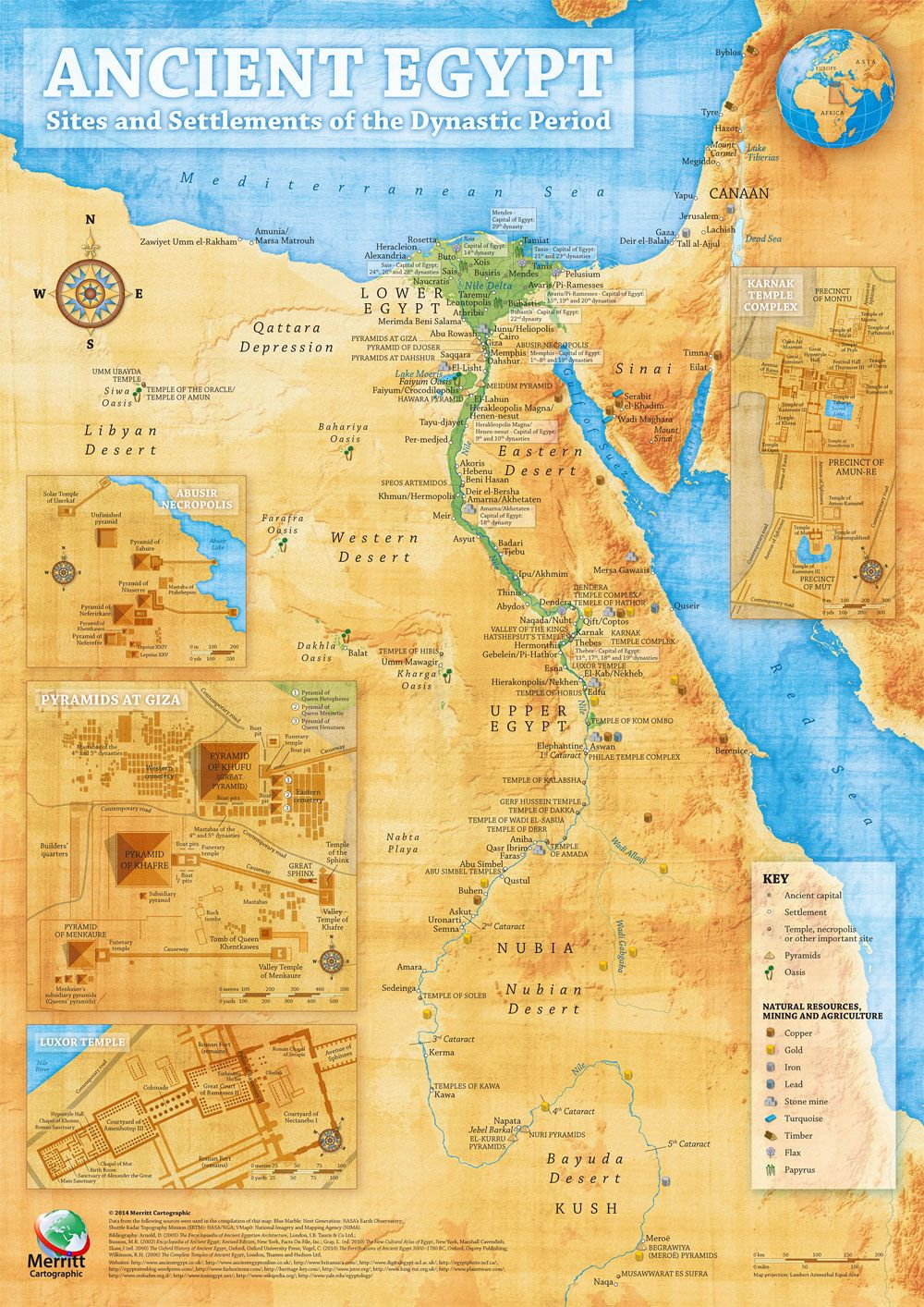 Ancient egypt map illustrative overview map highlighting the main ancient egypt map illustrative overview map highlighting the main sites and settlements of the ancient gumiabroncs Images