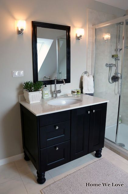 Make Bathroom Vanity From Kitchen Cabinets Home We Love adlı kullanıcının DIY projects panosundaki Pin | Ikea