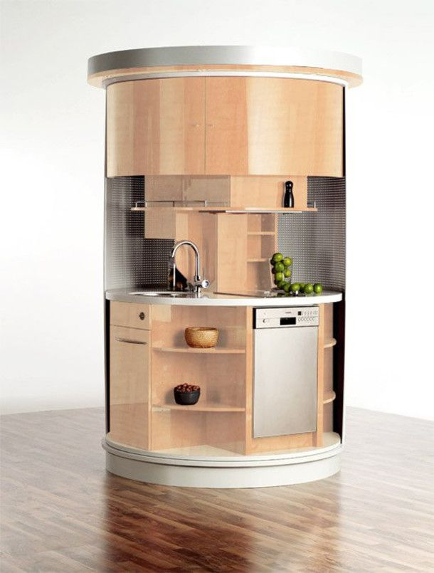 Space Saving Ideas For Small Kitchens Modern Round Space Saving ...