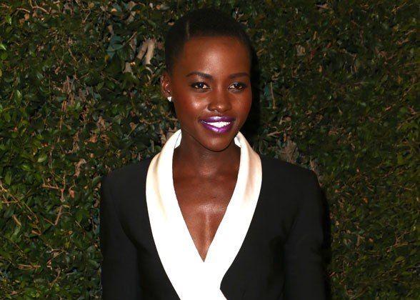Lupita Nyong'o's Eight Best Lipstick Looks Ever