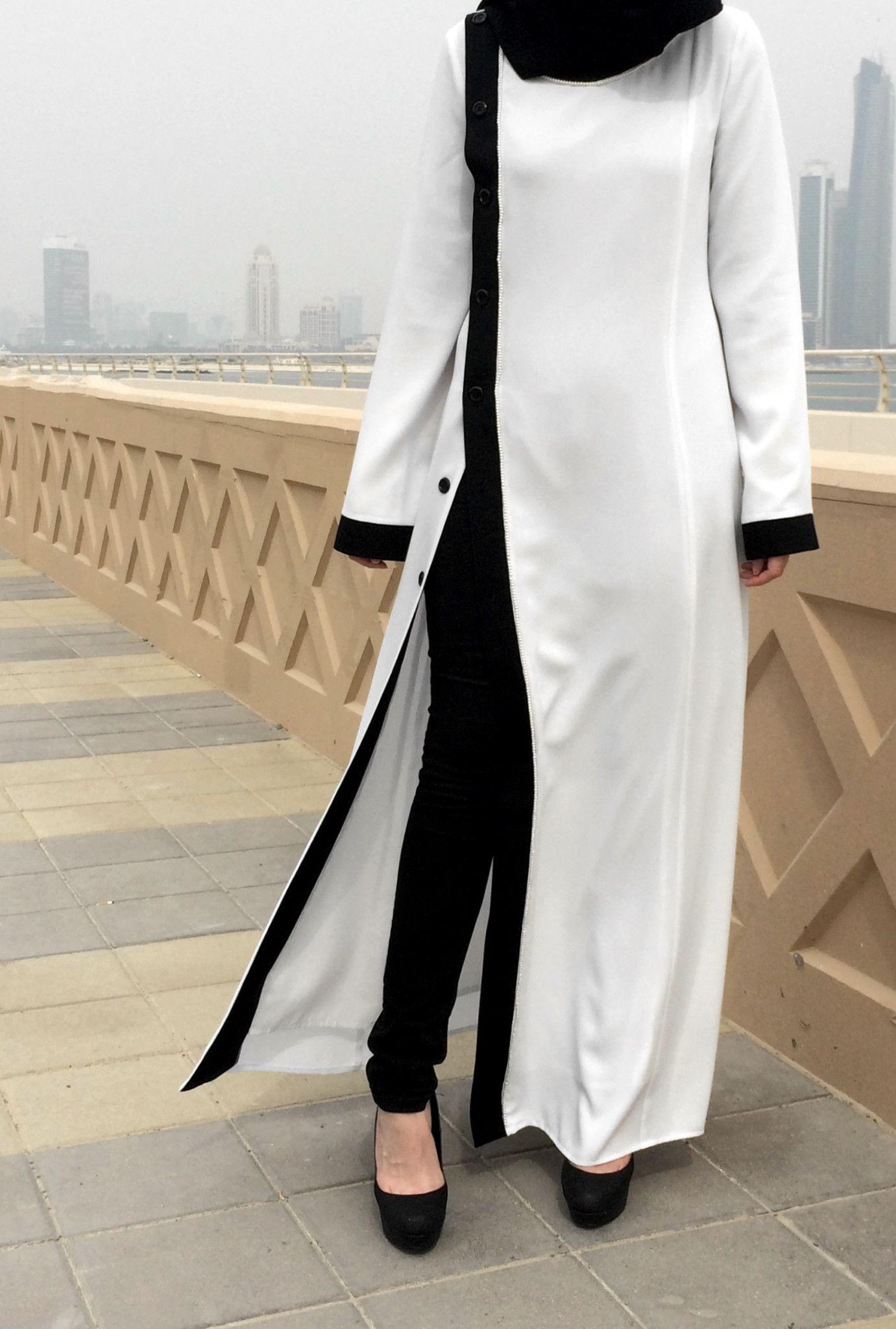 Pearl Abaya | Abaya in 2019 | Hijab fashion, Abaya fashion, Dresses