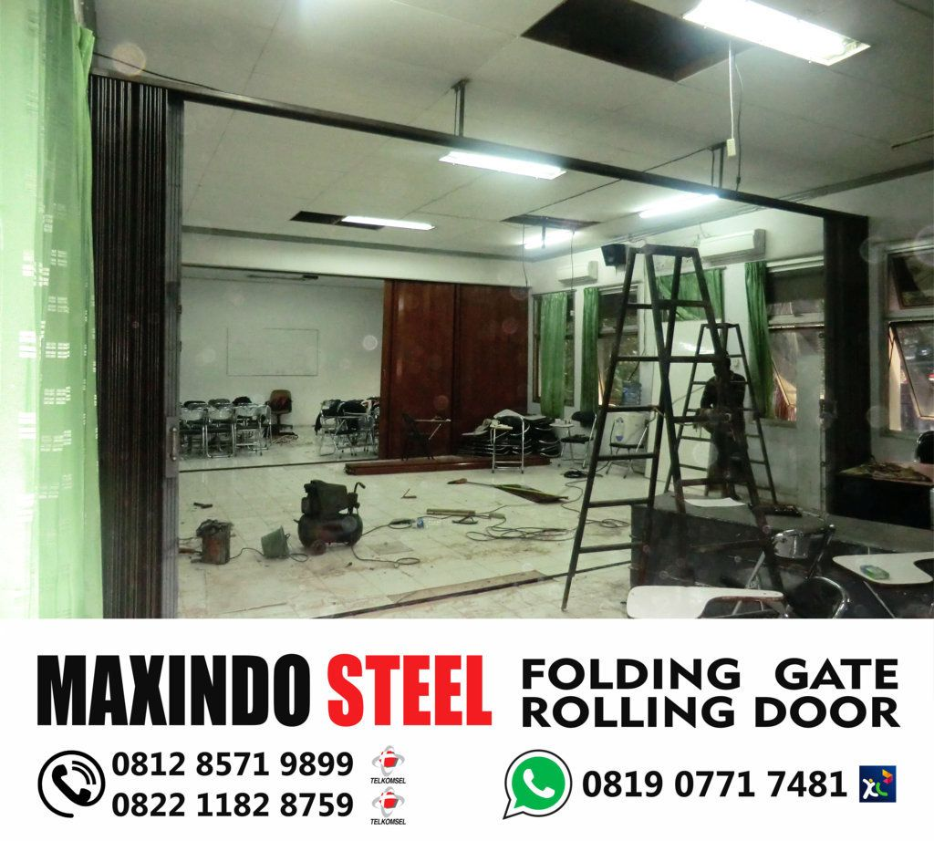 folding gate jakarta selatan maxindo steel   #FOLDING- GATE- JAKARTA ...