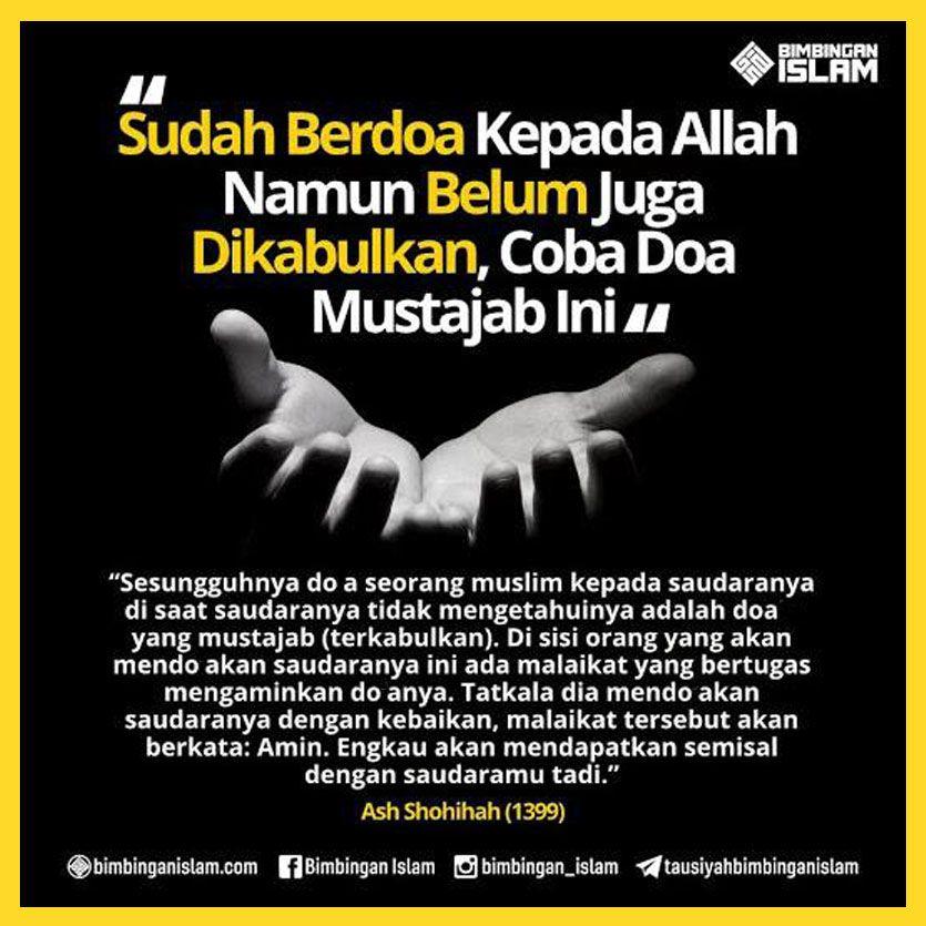 Mari Doakan Saudara Kita Secara Diam Diam Islamic Quotes Doa Islam
