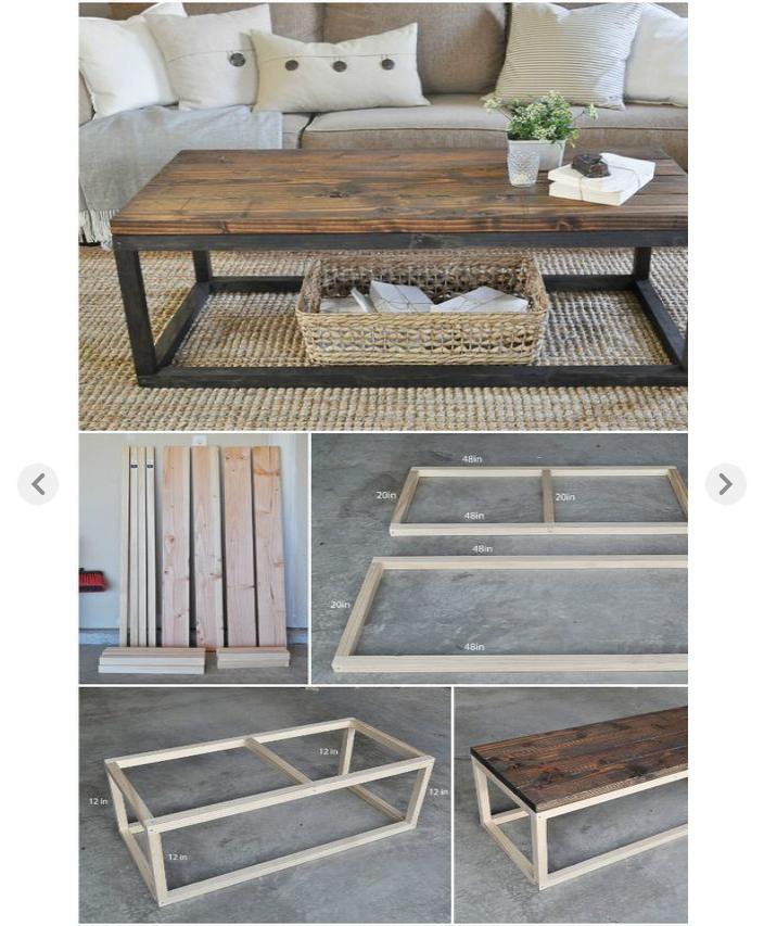 Diy Couchtisch Selfmade Holz Mobel Selberbauen Design Interior Innenein Diy Selber Machen Diy Coffee Table Plans Easy Home Decor Home Diy